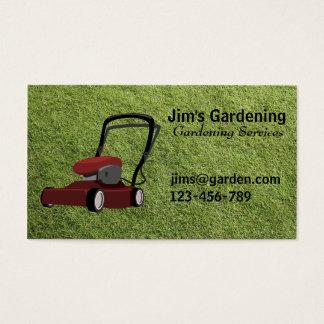 Serviços de jardinagem/de sega de /Landscape Cartão De Visitas