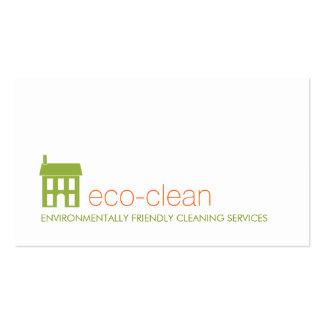 Serviços naturais da limpeza do logotipo da casa