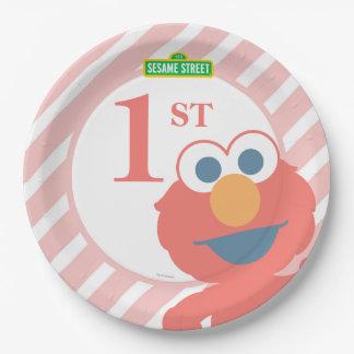 Sesame Street | Elmo - placa de papel do Prato De Papel