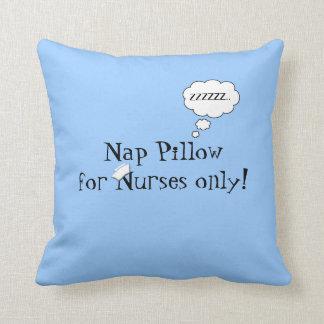 Sesta das enfermeiras Travesseiro-Azul Travesseiros De Decoração