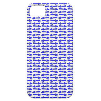 Seta azul capa barely there para iPhone 5