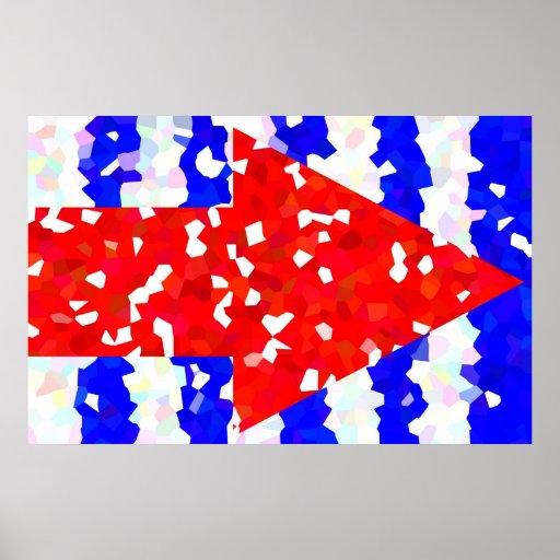 Seta cristalina (barato) impressão