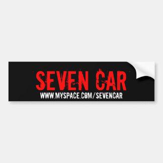 SETE CARRO, www.myspace.com/sevencar Adesivo Para Carro