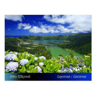 Sete Cidades, Açores Cartão Postal