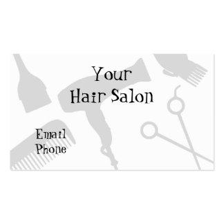 Seu cabeleireiro cartões de visita