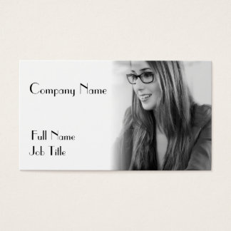 Seu design da foto cartão de visitas