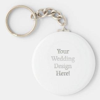Seu design do casamento chaveiro