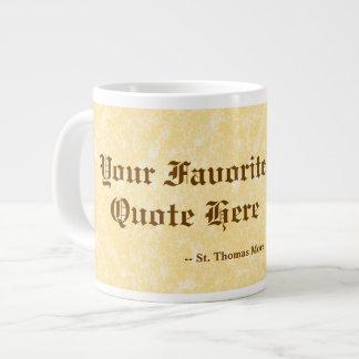 Seu favorito St Thomas mais citações enormes/extra Caneca De Café Grande