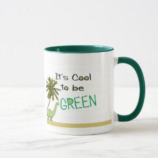 Seu legal a ser caneca verde