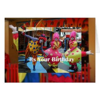 Seu seu aniversário cartão comemorativo