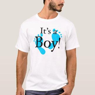 Seu um menino - bebê, recém-nascido, celebração t-shirts