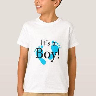 Seu um menino - bebê, recém-nascido, celebração tshirt