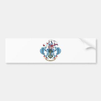 SeychellesCoat dos braços Adesivo Para Carro