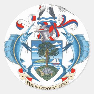 SeychellesCoat dos braços Adesivo