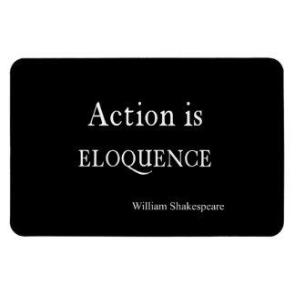 Shakespeare personalizou a ação das citações é foto com ímã retangular