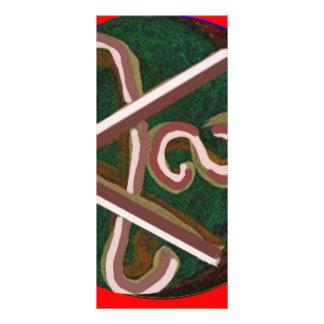 Shanti = paz 10.16 x 22.86cm panfleto