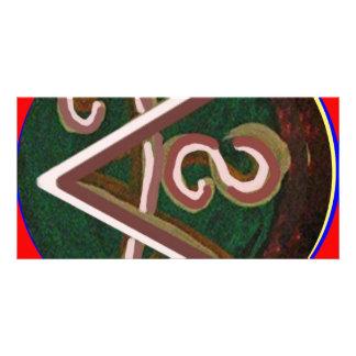 Shanti = paz cartão com foto