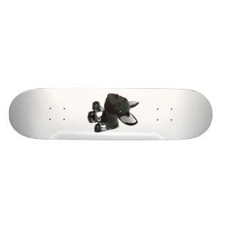 Shape De Skate 18,1cm Buldogue francês de vidro