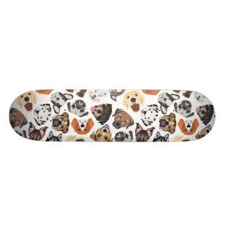 Shape De Skate 18,1cm Cães domésticos doces do teste padrão da