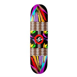 Shape De Skate 18,1cm Fusão do paraíso de LollieSkate