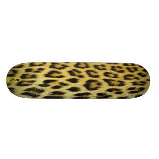 Shape De Skate 18,1cm Inclinação de montanha do teste padrão do leopardo