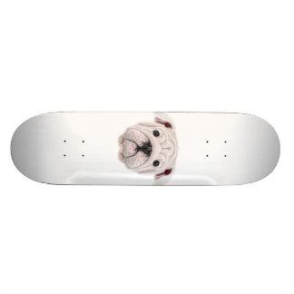 Shape De Skate 18,1cm Retrato ilustrado do filhote de cachorro inglês do