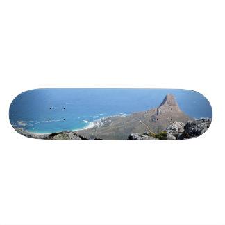 Shape De Skate 18,4cm Abseiling apresenta para baixo a montanha em Cape
