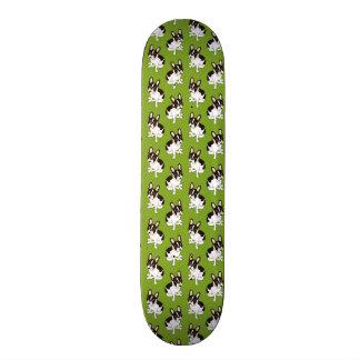 Shape De Skate 18,4cm Buldogue francês pied encapuçado dobro bonito