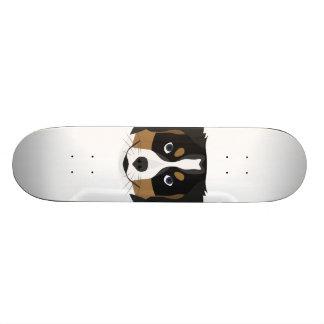 Shape De Skate 18,4cm Cão de montanha de Bernese da ilustração
