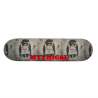Shape De Skate 18,4cm mantenha-o plataforma real do macaco