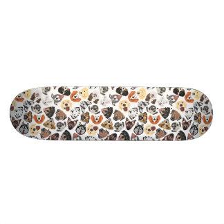 Shape De Skate 18,7cm Cães domésticos doces do teste padrão da