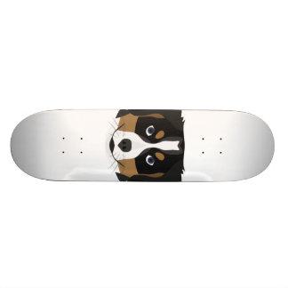 Shape De Skate 18,7cm Cão de montanha de Bernese da ilustração