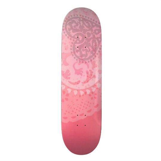 Shape De Skate 18,7cm Conselho feito sob encomenda do parque do coração