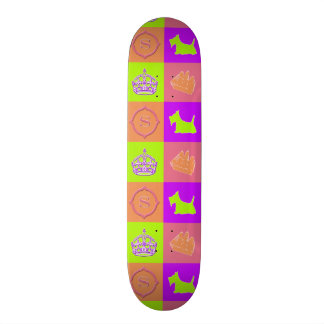 Shape De Skate 18,7cm Divertimento da cor do no. 15 do Scottie