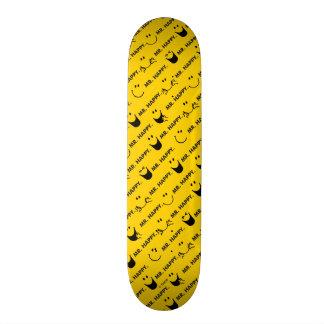 Shape De Skate 18,7cm O Sr. Feliz | todo sorri teste padrão