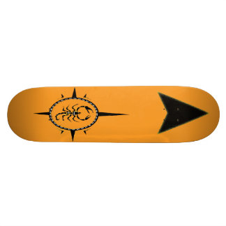 Shape De Skate 18,7cm Skateboard. tribal do escorpião