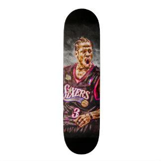 Shape De Skate 19,7cm Arte Iverson do fã toda a plataforma natural do
