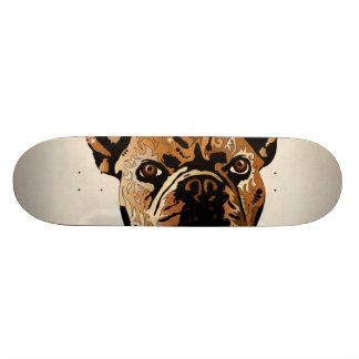 Shape De Skate 19,7cm Buldogue francês