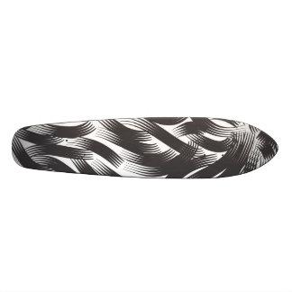 Shape De Skate 19,7cm Cabelo preto bonito