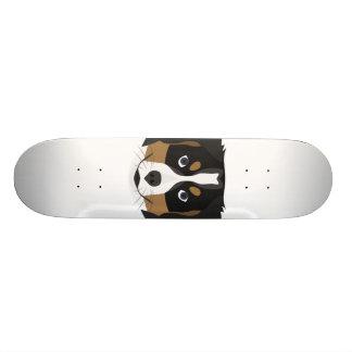 Shape De Skate 19,7cm Cão de montanha de Bernese da ilustração
