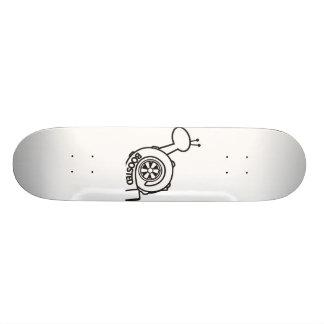 Shape De Skate 19,7cm O conselho impulsionado