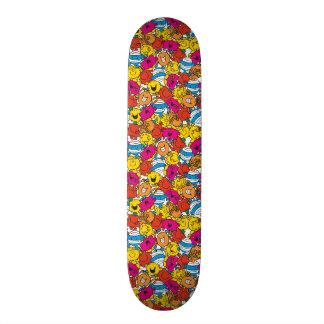 Shape De Skate 19,7cm Sr. Homem & caras de sorriso brilhantes pequenas