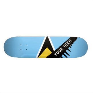 Shape De Skate 20,6cm Bandeira de Lucia de santo