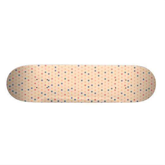 Shape De Skate 20,6cm Bolinhas retros