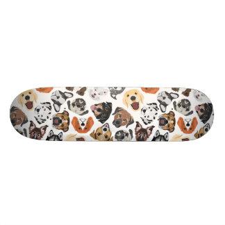 Shape De Skate 20,6cm Cães domésticos doces do teste padrão da