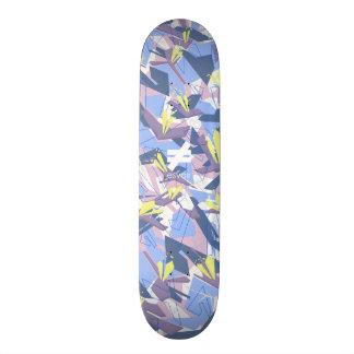 Shape De Skate 20,6cm Lavandas da marca 7 de Esvoir Camo