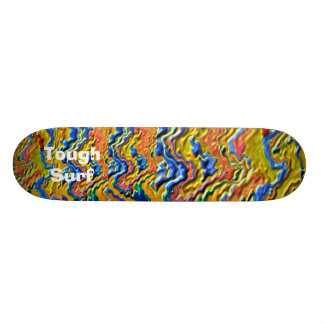 Shape De Skate 20,6cm Ouro real do surf resistente