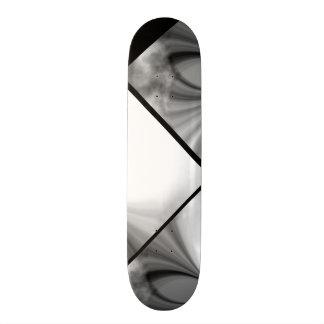 Shape De Skate 20,6cm Plataforma customizável 0 do teste padrão preto e