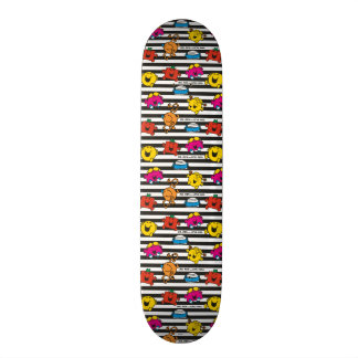 Shape De Skate 20,6cm Sr. Homem & teste padrão pequeno das listras da