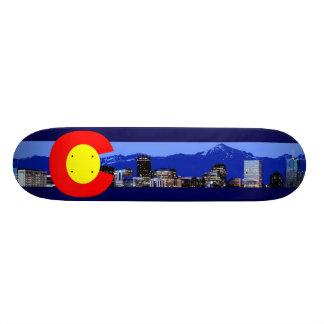 Shape De Skate 20cm Bandeira da montanha de Colorado